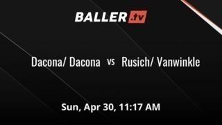 It's a wash between Dacona/ Dacona and Rusich/ Vanwinkle