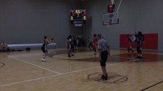 Legit Basketball (IN) with a win over All Indy 2018, 52-44
