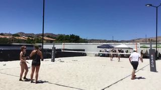Things end all tied up between Micheletti/Inman (MCHS) and Djabarri/Sims (PALI)