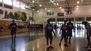 Compton Magic with a win over Inspire Elite, 62-43