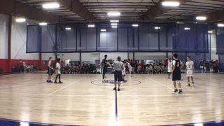 NJ Roadrunners with a win over Sportika Hoop Nation, 58-20