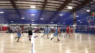 Team Melo steps up for 59-56 win over Staten Island Stingrays
