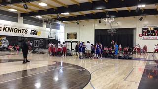 EBA Pharaohs Gold with a win over Magic West, 57-40