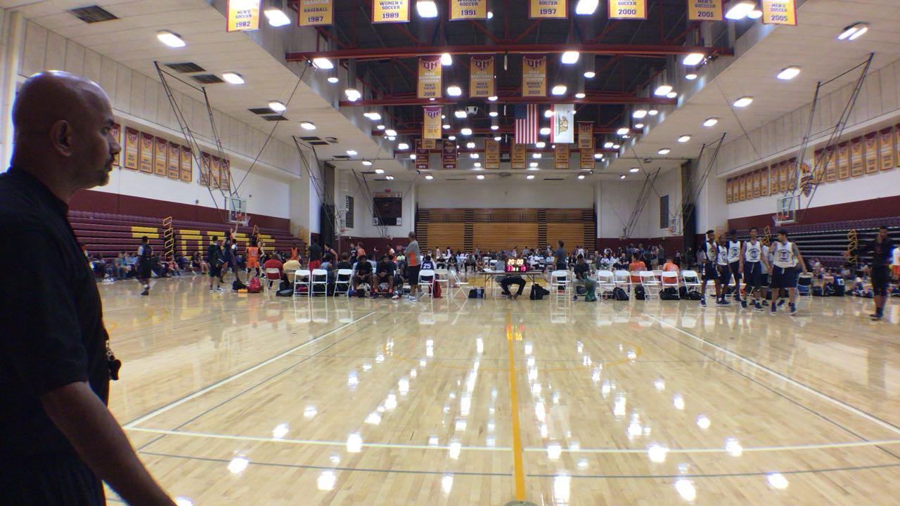 Cali Elite victorious over Team Compton, 75-43
