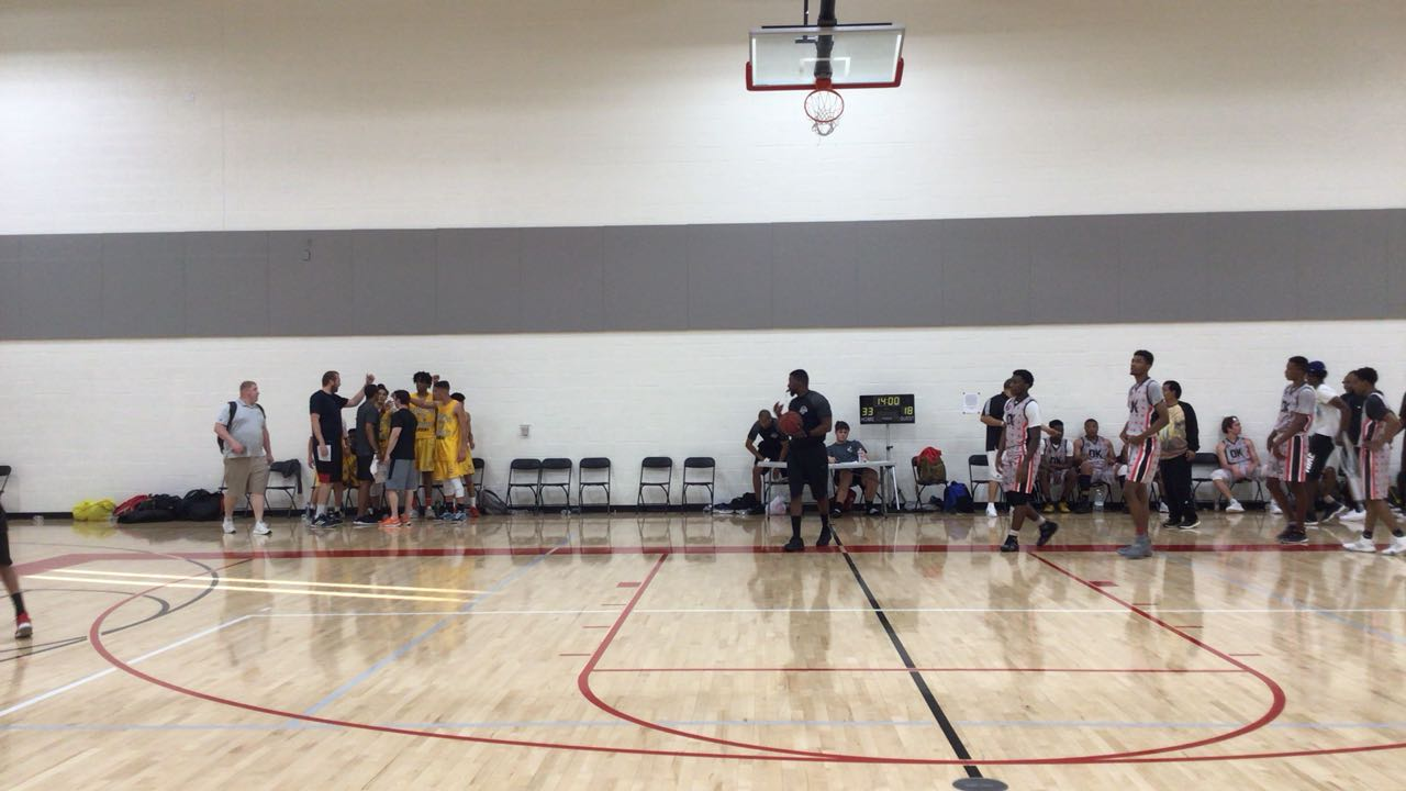 Oklahoma Magic with a win over Branch West, 65-40