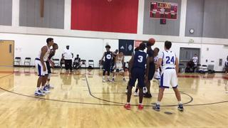 Cali Boost with a win over FBC Perris, 74-34