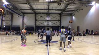 Magic Elite with a win over New Orleans Elite, 80-71