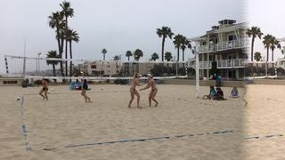 Nourse/Nourse getting it done in win over Kedeshian/McMurray, 21-9