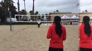 Slagerman/Micheletti emerges victorious in matchup against Lente/Lente, 21-8