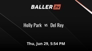 Del Rey defeats Holly Park, 3-2