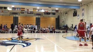 Cali Rebels North 16U with a win over LA Elite 16U, 70-59