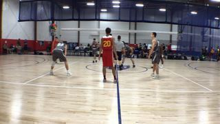 East Coast Power - Van Zelst puts down Maryland 3D White with the 75-67 victory