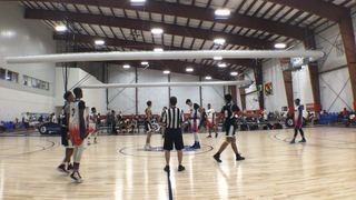 HoopDreamz Blue puts down L&L Running Rebels Blue with the 93-63 victory