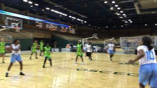 Lady Texas Warriors gets the victory over Bay Area Elite , 28-18