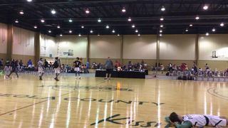 Things end all tied up between So Fly Allstars 2019   and Florida Future Gold