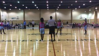 Lady Region Elite  picks up the 55-31 win against Lady Texas Warriors