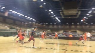 Things end all tied up between D-Block  and Indiana Elite