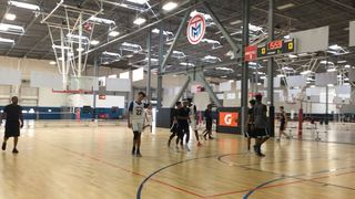 Things end all tied up between Noc/Team Map 17s and OC Rain Basketball 17U