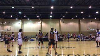 Texas D1 Ambassadors Austin  victorious over Heart N Hustle  , 48-40