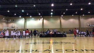 Houston Fast Breakers  wins 57-55 over Team Denton