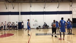 West Valley Blue Elite 17 gets the victory over Pangos Elite 17, 69-61