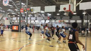 Wyoming Beasts 17U with a win over Southern California Cavs 17s, 82-68