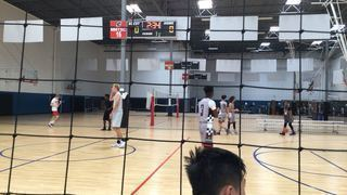M State 15s with a win over A-Team 15s, 48-47