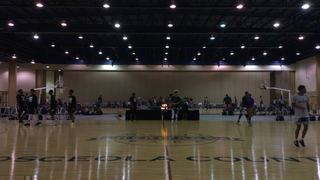 North Carolina Blazers with a win over ATL ShowStopperz , 46-31