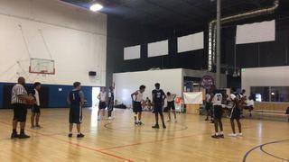 Vegas Elite 2019 Blue defeats Point Break, 65-36