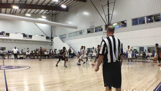 Team Melo Red steps up for 72-66 win over Team Rebel