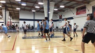 West Valley White Select 17 picks up the 61-60 win against OC Pride White