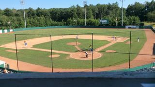 Sullivan Explorers with a win over Old Orchard Beach Surge, 9-5