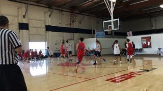 San Diego Elite 16 steps up for 67-54 win over Bay City Basketball 16 Red