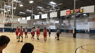Los Angeles Elite White 50 PowerHouse Hoops 17U Scottsdale Maroon 45