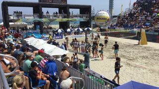 Pro introduction  AAU beach volleyball