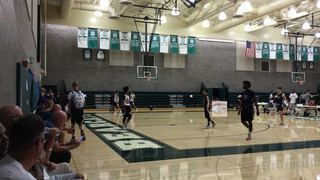 Starting5 Basketball 15s Orange wins 61-55 over EWE 2020 Gray