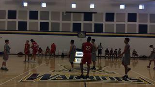 Arizona Wizards 15U Elite with a win over Bay Area Wolfpack 15U, 63-44