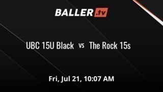 It's a wash between UBC 15U Black and The Rock 15s