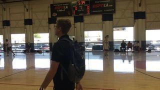 Indiana Elite 2019 gets the victory over San Diego Elite 16, 103-53