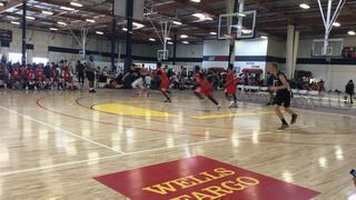 Pasadena Blazers 17 getting it done in win over D1 Basketball, 74-37