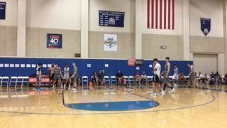 Colorado Titans 17s with a win over EWE Hawaii 17s, 71-62