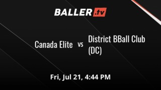 It's a wash between Canada Elite and District BBall Club (DC)