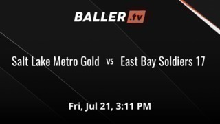 Salt Lake Metro Gold gets the victory over East Bay Soldiers 17, 61-29