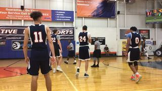 L&L Running Rebels Blue victorious over Uptempo Playmakers, 66-50