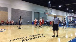 Westbrook Blue Blazes gets the victory over Salvation Army, 35-26