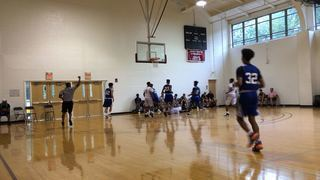 New World Academic getting it done in win over Team Possible, 62-61