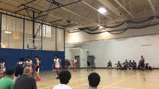 Boston Basketball  victorious over Expressions X, 55-54