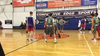 Hoopdreamz Blue (PA) puts down Central PA Elite with the 24-22 victory