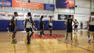 Team Final -- Black (PA) getting it done in win over L&L Running Rebels White (PA), 87-85