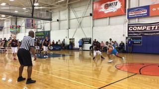 Brooklyn Kings (NY) with a win over York Thunder (PA), 68-59